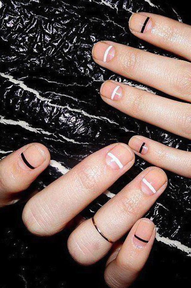 chic nude nail color trend ideas french manicure minimlist | Nude ...