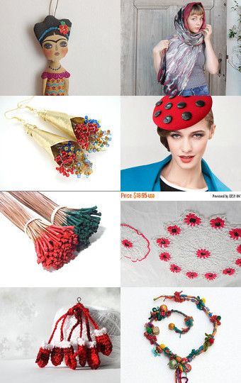 accessories, ideas  holiday  ,  vintage by Lotus Supplies on Etsy--Pinned with TreasuryPin.com