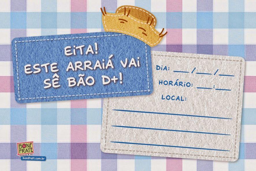 Convites De Festa Junina Modelos Para Imprimir Festa Junina