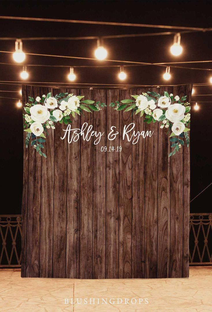 Wedding Photo Backdrop, Rustic Wedding Decorations On A Budget, Rustic Backdrop, Photo Booth Backdrop Wedding, Country Wedding Backdrop