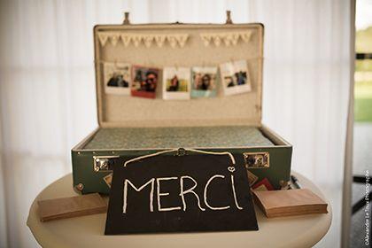 urne de mariage valise vintage urne de mariage urne mariage urne et deco mariage. Black Bedroom Furniture Sets. Home Design Ideas