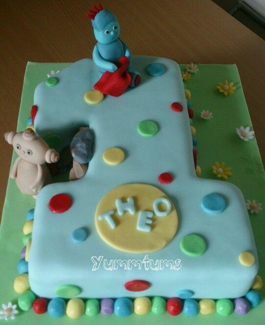 In the night garden cake | Toby\'s first birthday | Pinterest | Night ...