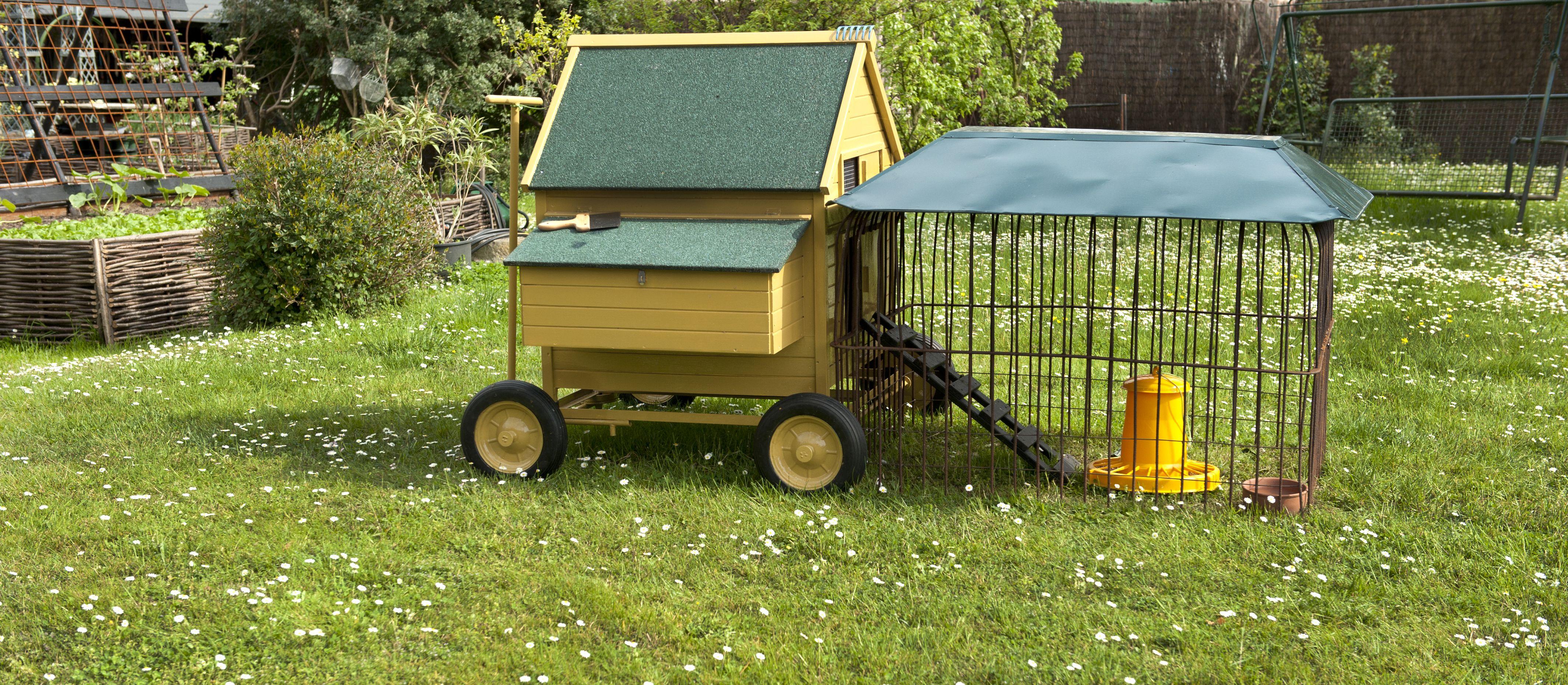 Kitchen Garden Hens Hen House With Patio Guidofrilli Garden My Kitchen Garden In