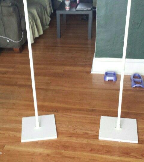 Diy balloon columns for arches sooo simple