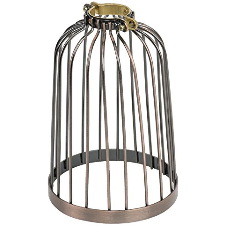 Industrial Vintage Bird Cage Design Style Hanging Pendant Light ...