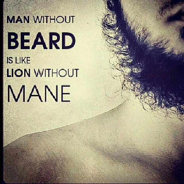 Lion Beard Shave Muslim Islam Sunnah Hadith Appearance
