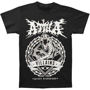 3239119e0f6 Attila Snake T-shirt | Band merch | Shirts, T shirt, Mens tops