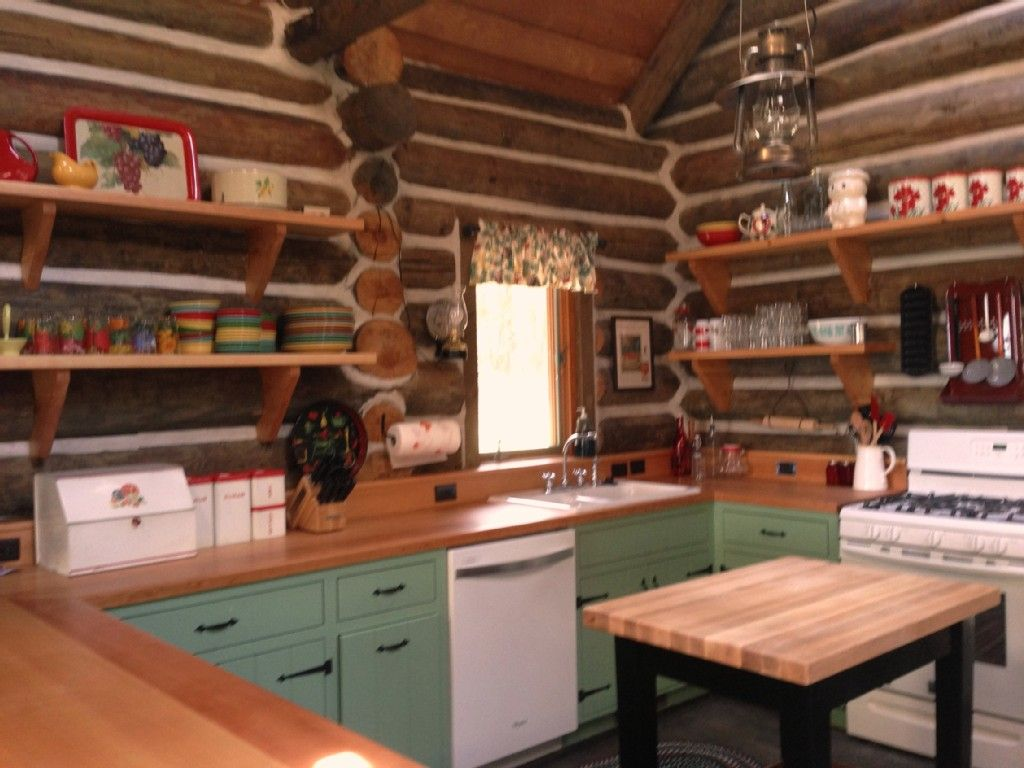 Just my style cabin kitchen decor small cabin
