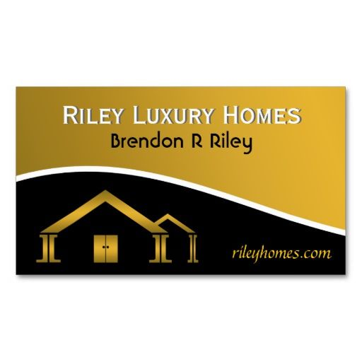 Home Building Construction Business Card