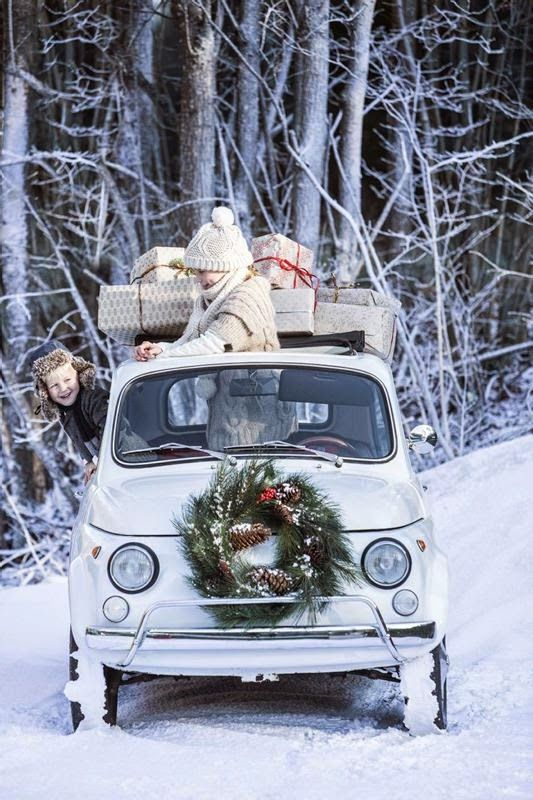 Filling your car on Christmas day