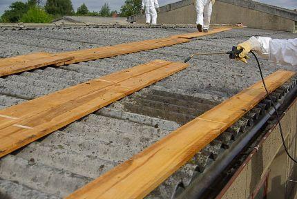 Asbestos In The Garden Asbestos Removal Mesothelioma Shed Plans