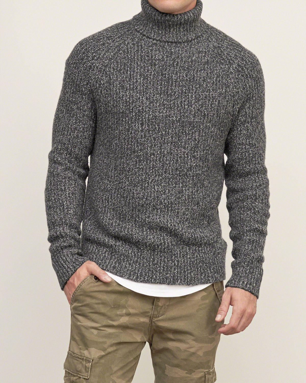 Mens Turtleneck Sweater   Mens Sweaters   Abercrombie.com   Knit ...