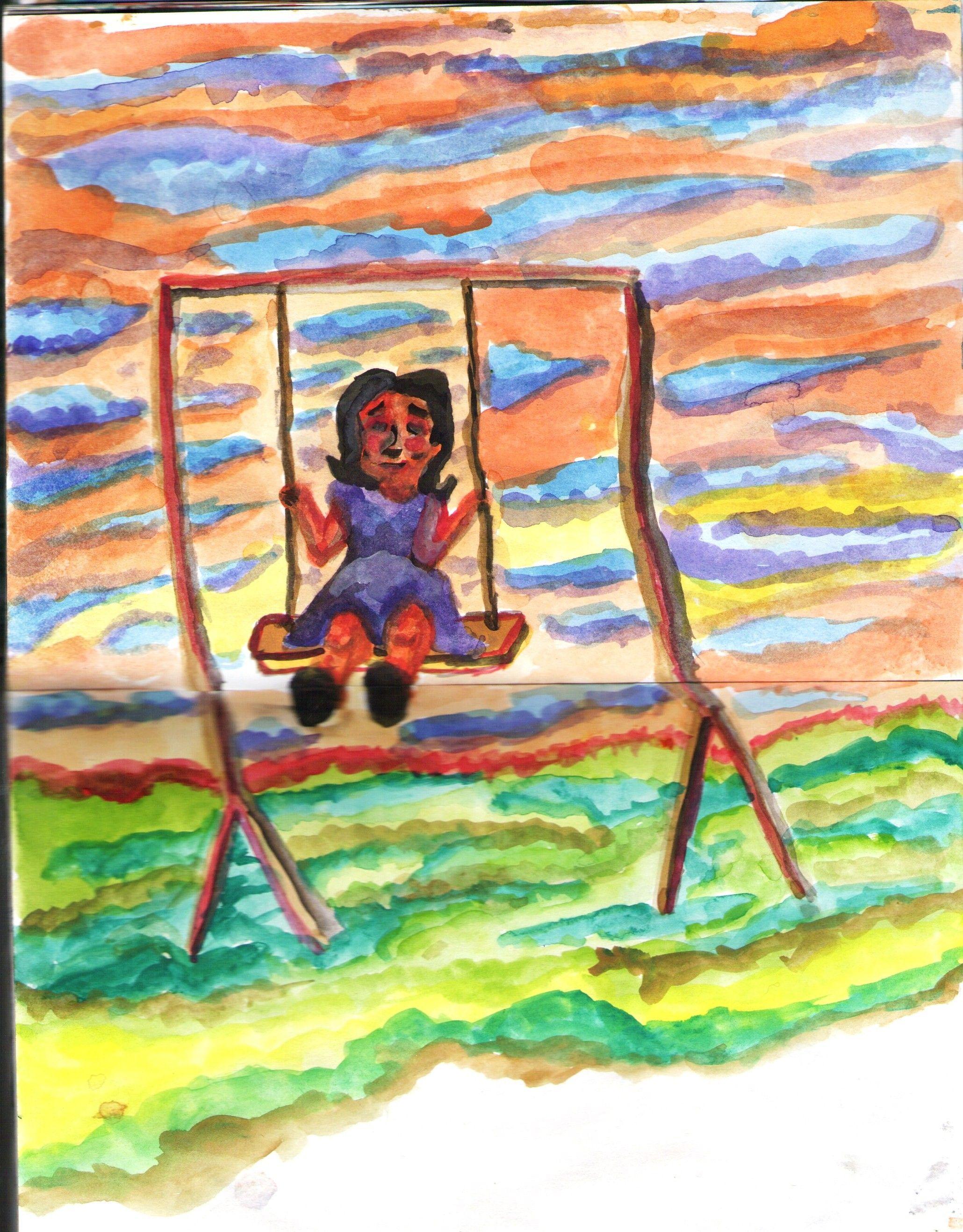 """Swing Girl"" by Rony."