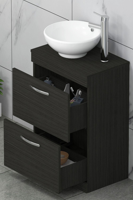 45+ Free standing bathroom sink units type