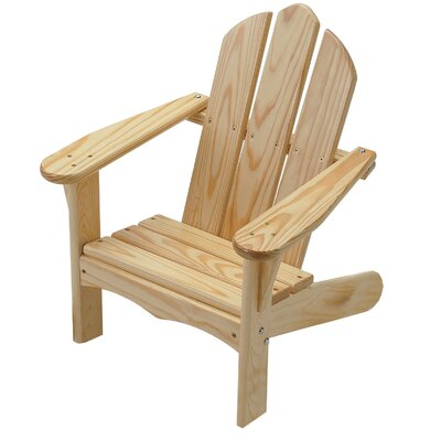 Loon Peak Arielle Child S Solid Wood Adirondack Chair Adirondack