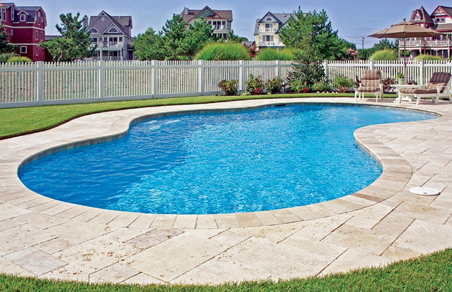 Free Form Pool Ideas Shapes And Pictures Blue Haven Pool Landscaping Pools Backyard Inground Inground Pool Landscaping
