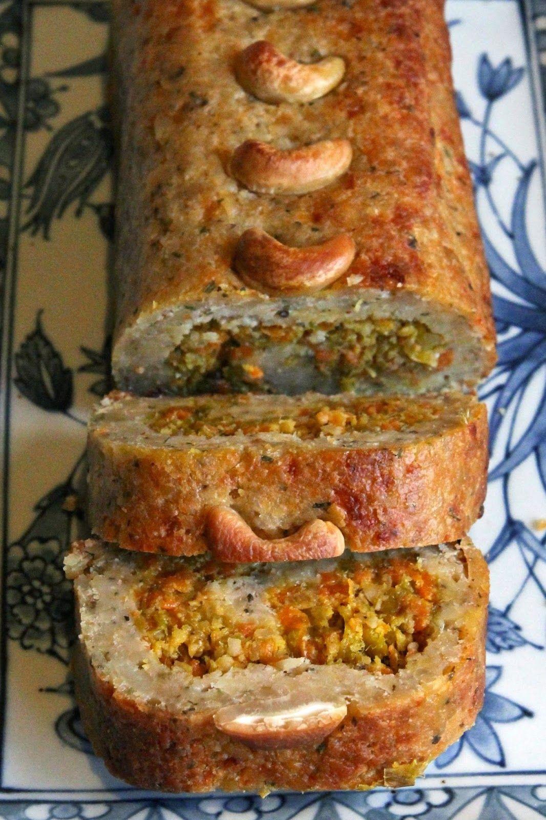 Gluten Free Alchemist: Stuffed Cashew Nut Roast