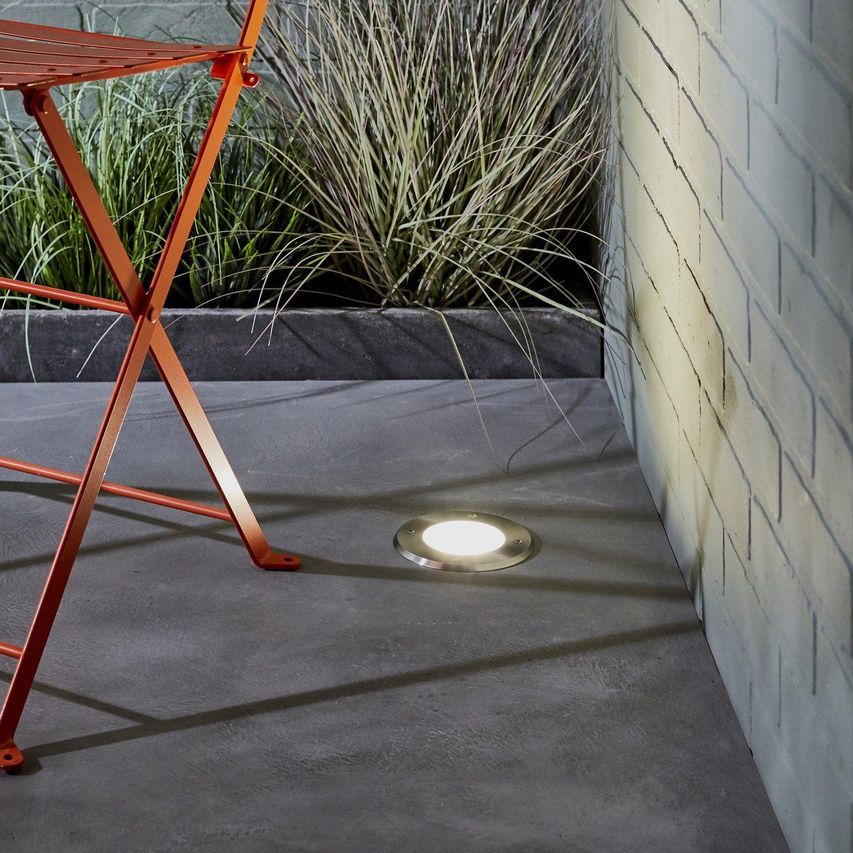 Spot Encastre Dans La Dalle Beton Lumiere Terrasse Eclairage Terrasse Spot Terrasse
