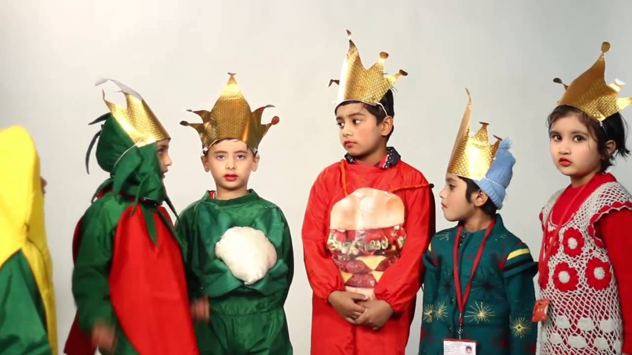 No to JUNK FOOD - An Act by Royal Kids School