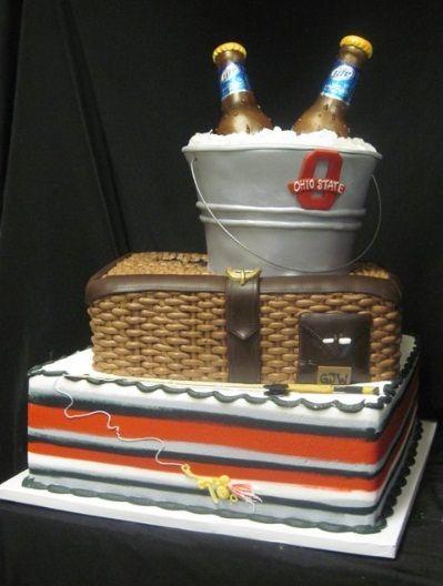 Fantastic Beer Birthday Cakes For Men Mens Birthday Cakes Birthday Birthday Cards Printable Benkemecafe Filternl