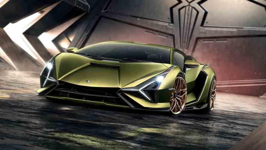 Lamborghini S 217 Mph Sián Supercar Is Powered By A Battery Breakthrough Super Cars Concept Cars Concept Cars Vintage
