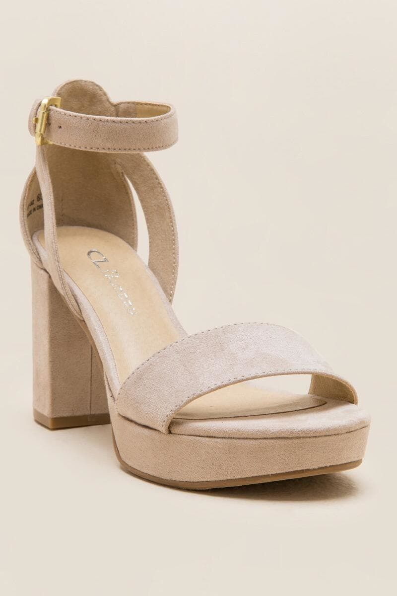 CL by Laundry Go On Platform Heel