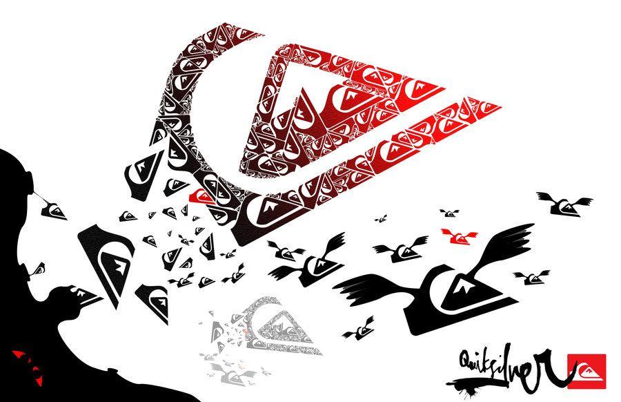 Quiksilver Design By Flyingmaniac Quiksilver Wallpaper Quiksilver Picture Logo