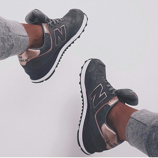 new balance rose gold et noir