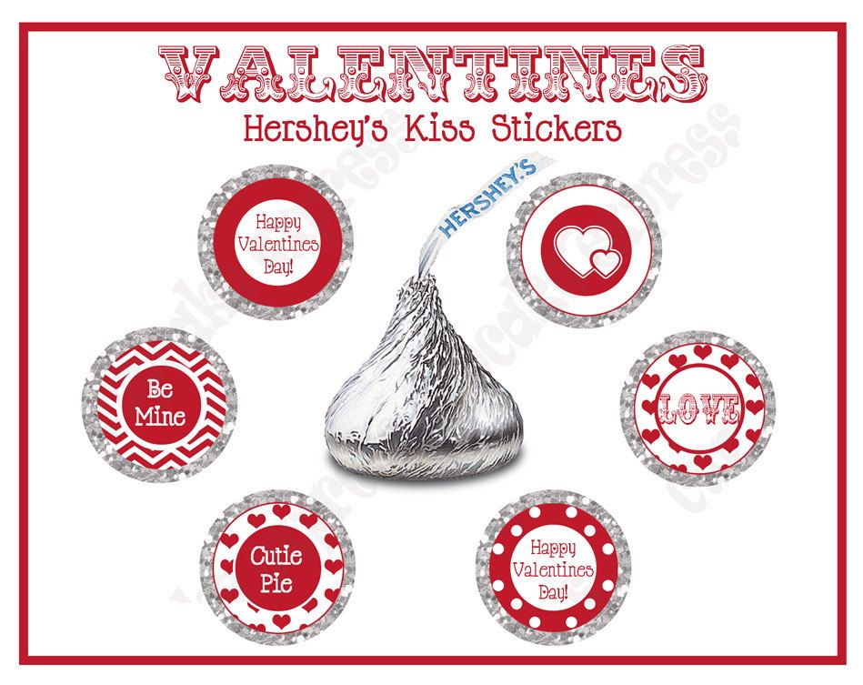 Items Similar To Instant Downloas Diy Be Mine Valentines Party Printable Hershey S Kiss Labels Stickers Re Valentines Party Kisses Labels Hershey Kiss Labels