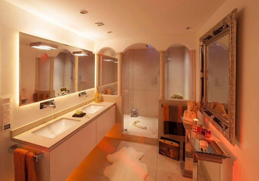 Badambiente im Stile Andalusiens Badezimmer modernisieren mit - badezimmer design badgestaltung