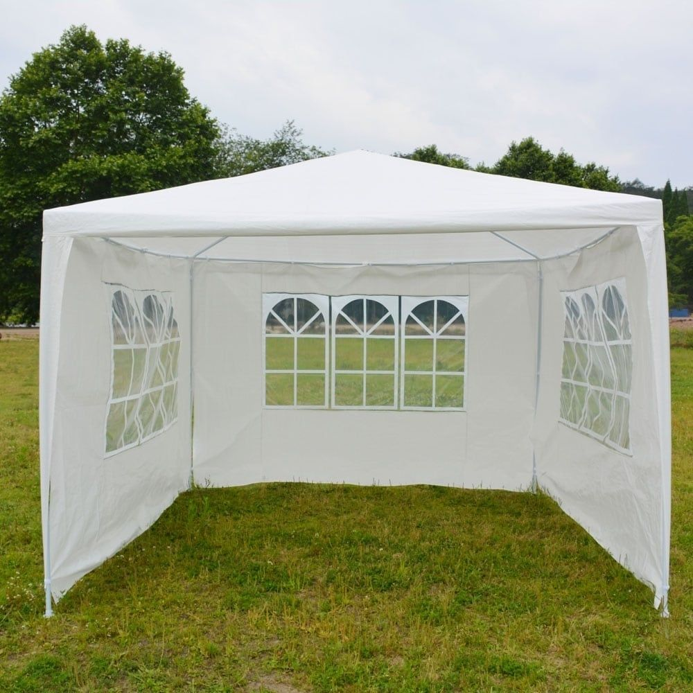 Outdoor 3 x 3m Three Sides Waterproof Tent with Spiral