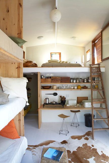 Small Box Room Cabin Bed: Melanie And Oliver Wolf
