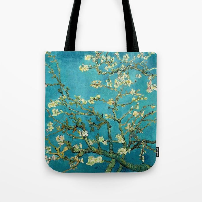 9e67c3945e8 Very  more photos 45802 be8a5 Buy Vincent Van Gogh Blossoming Almond Tree  Tote Bag by artgallery. ...