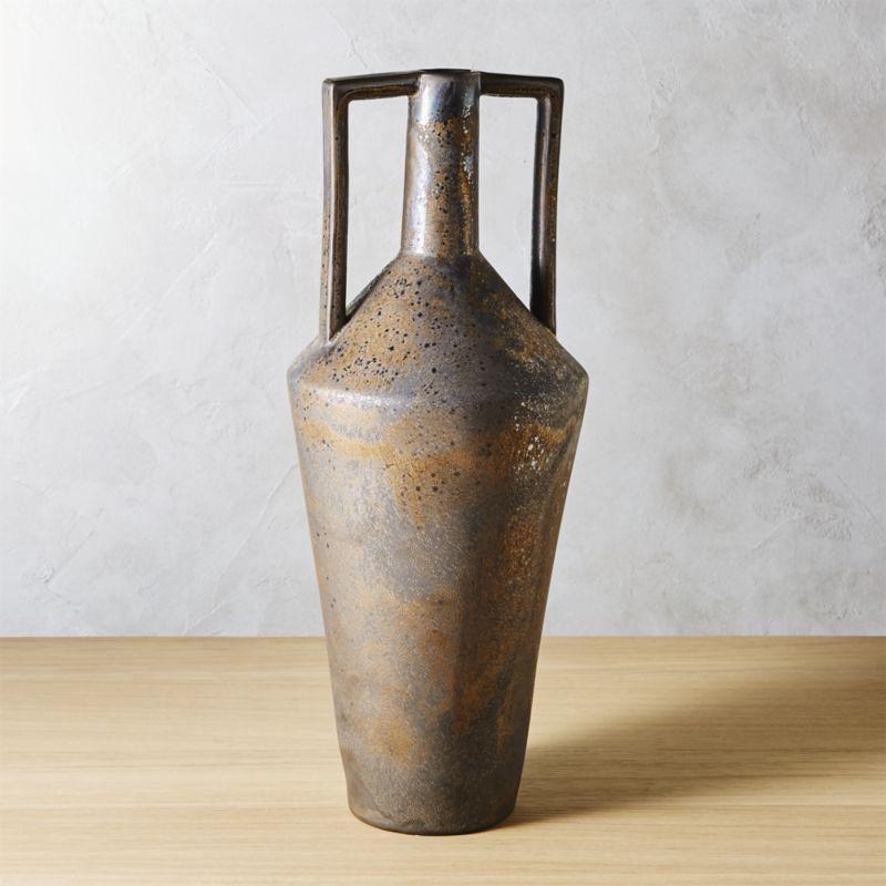 Hapi Vase With Handles With Images Modern Vase Vase