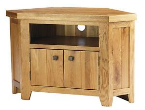 modern furniture handmade | ... HANDMADE SOLID AMERICAN OAK CORNER TV UNIT, MODERN HANDMADE FURNITURE