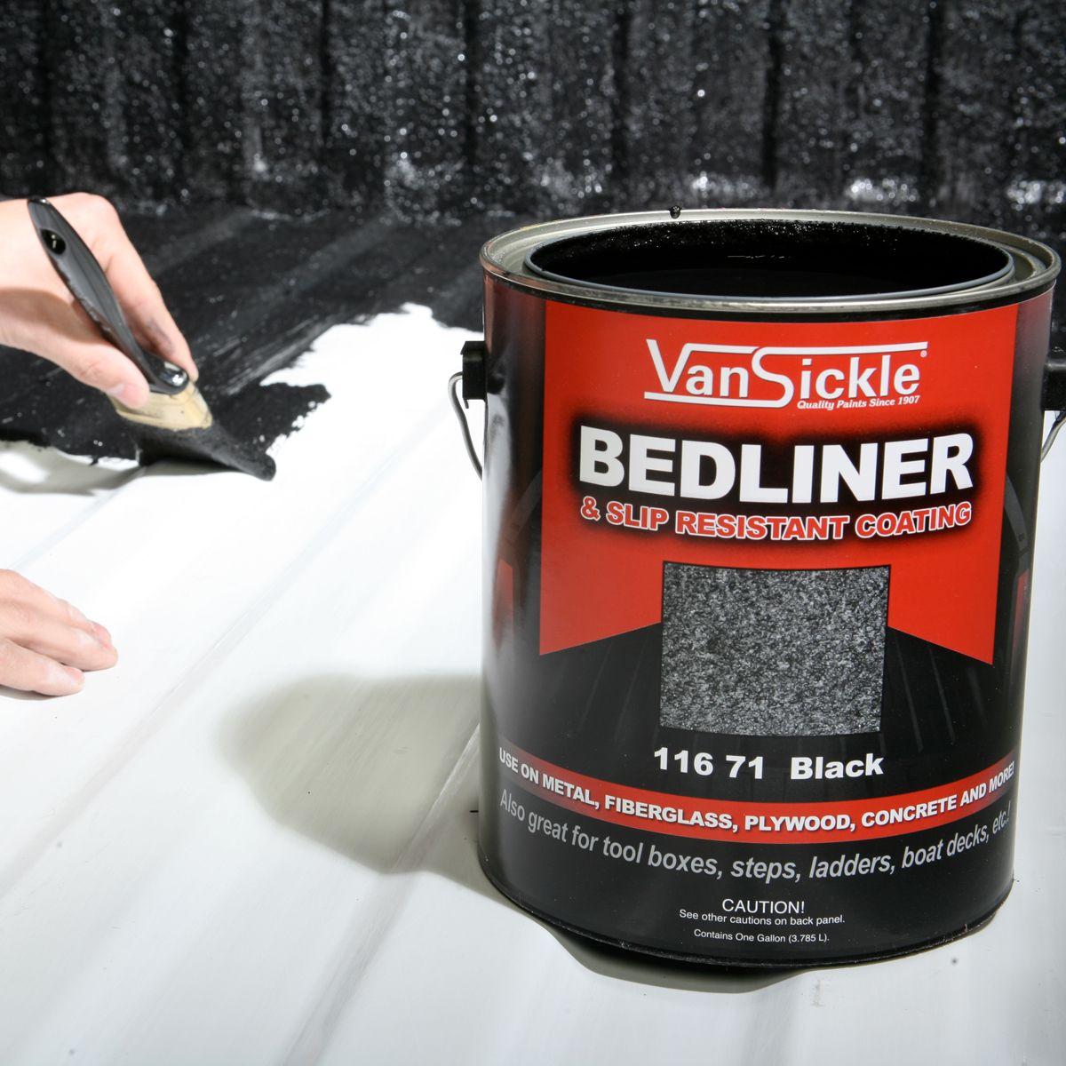 Van Sickle Bedliner & Slip Resistant Coating in 2020