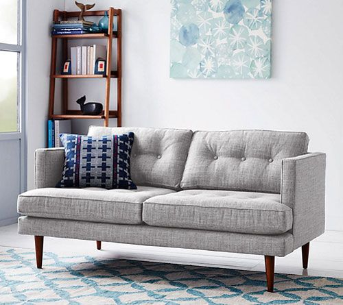 Midcentury-style West Elm Peggy Sofas At John Lewis