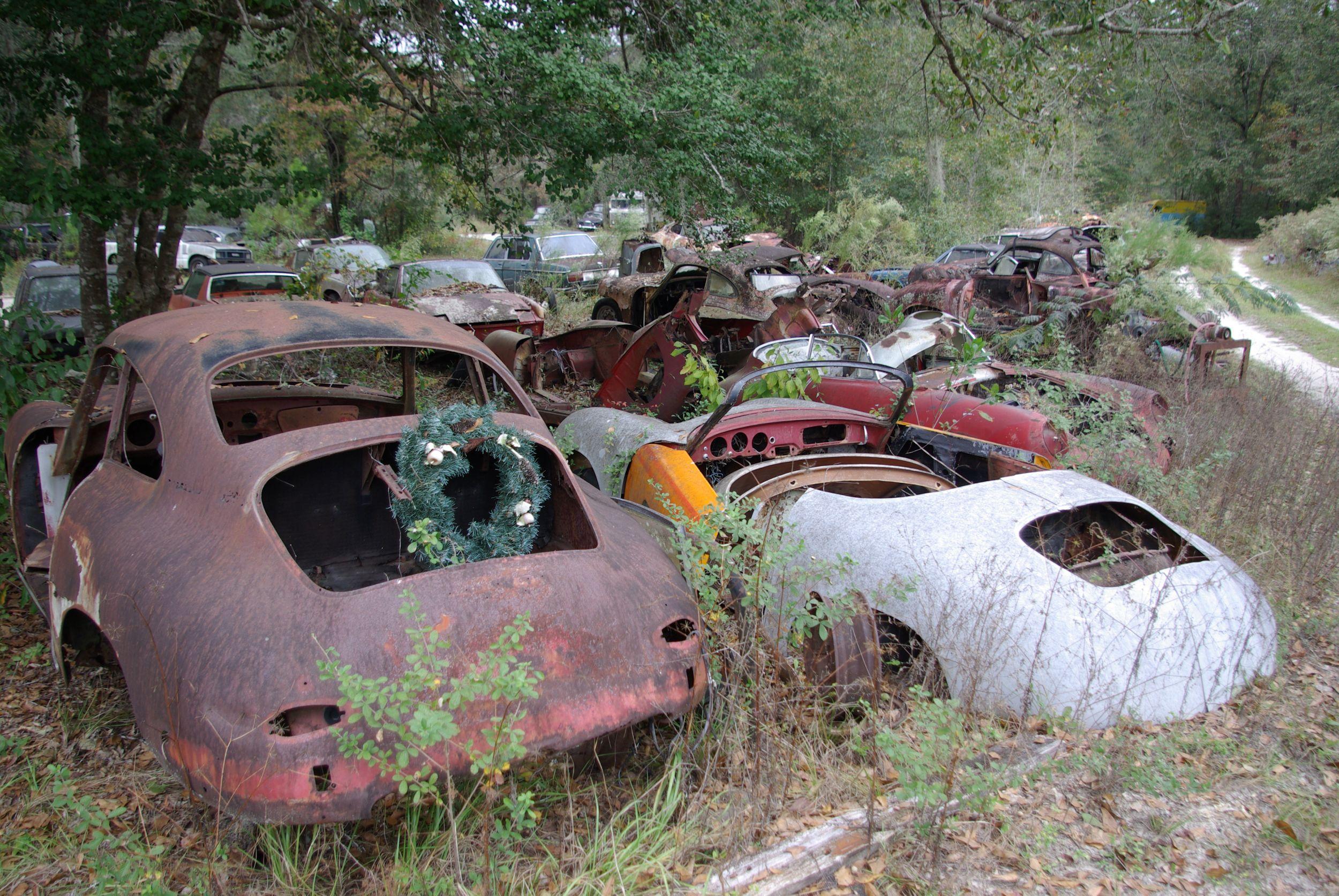 Gk Restoration S Porsche Graveyard Abandoned Cars Porsche 356 Porsche
