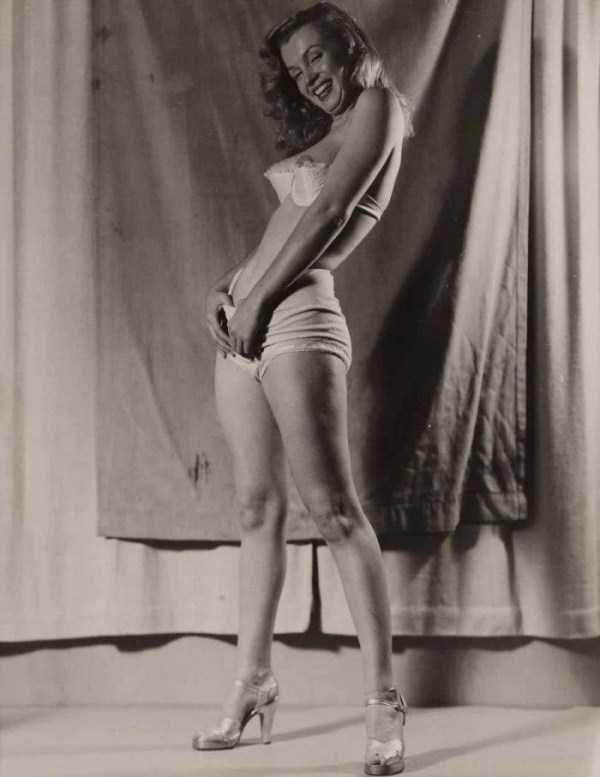 naked   marilyn   monroe pinterest