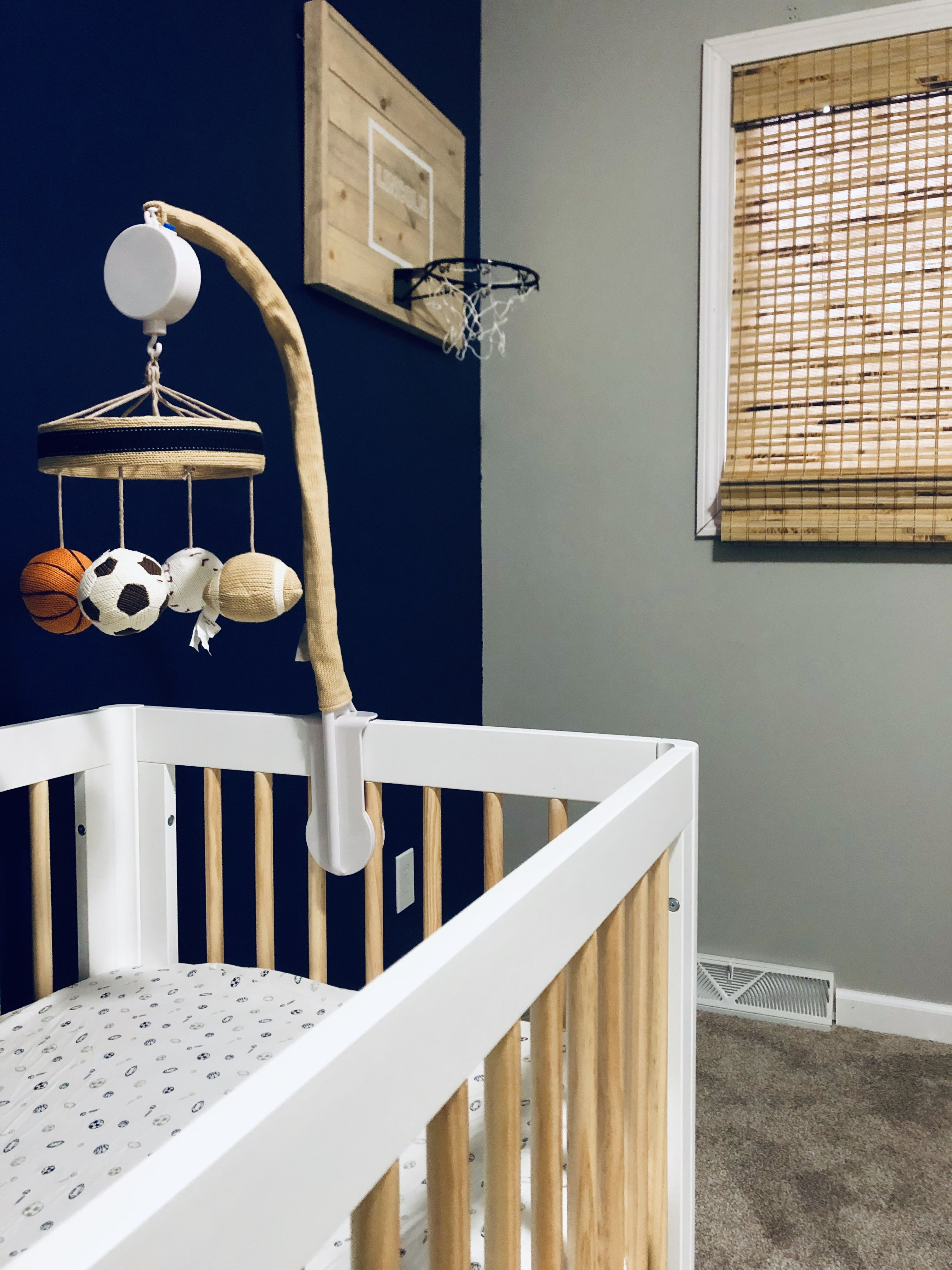 Vintage Baby Boy Nursery Ideas: Basketball Sports Nursery (With Images)