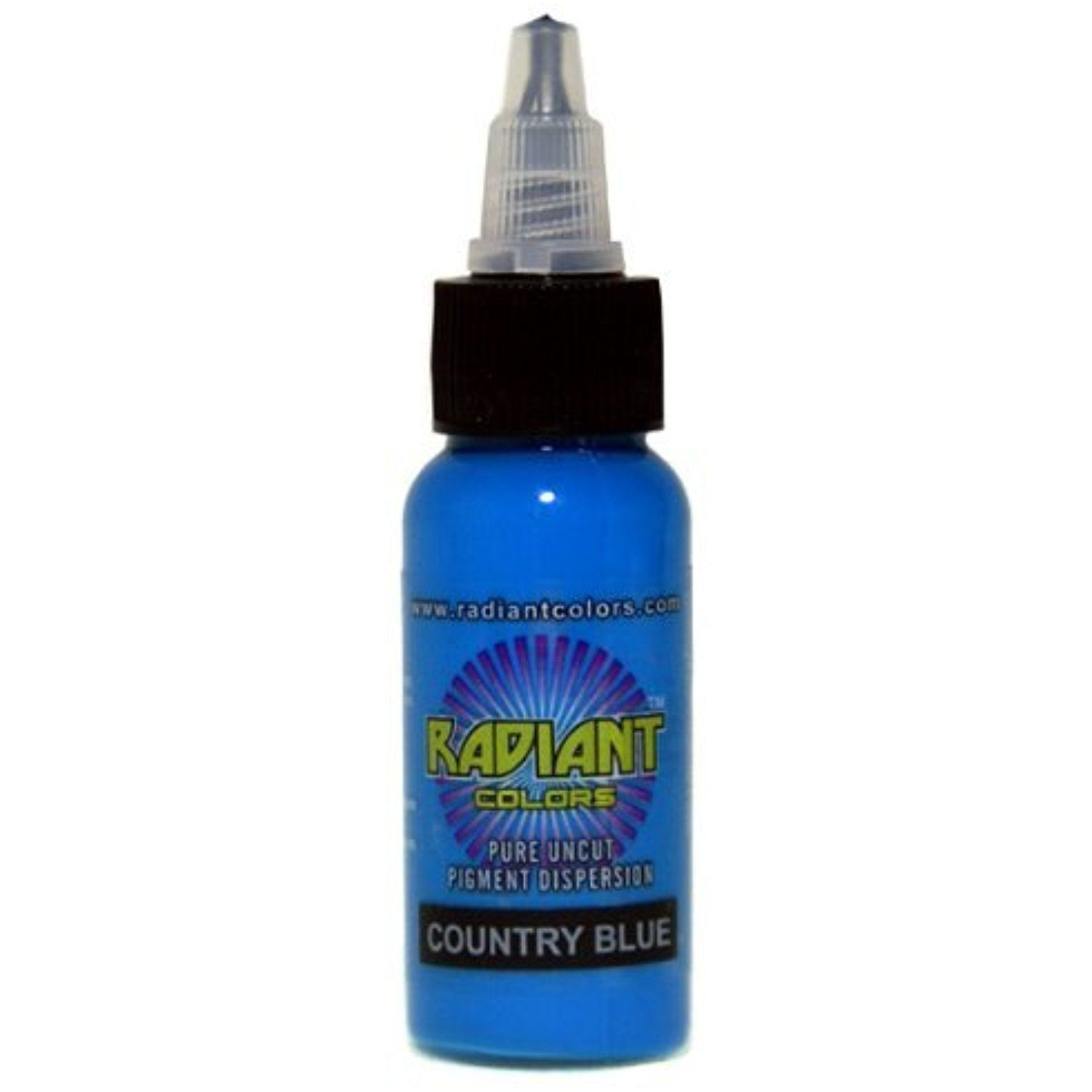 Radiant Colors Country Blue Tattoo Ink 1oz Made In Usa Learn More By Visiting The Image Link This Is An Affil Blue Ink Tattoos Blue Tattoo Country Blue