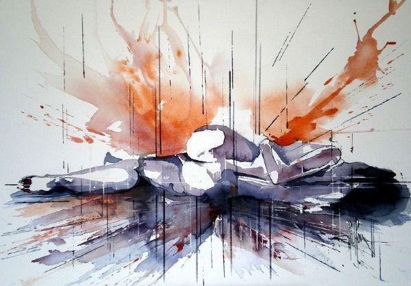 Galerie Les Autres - Patrick PICHON - Artiste Peintre Aquarelliste