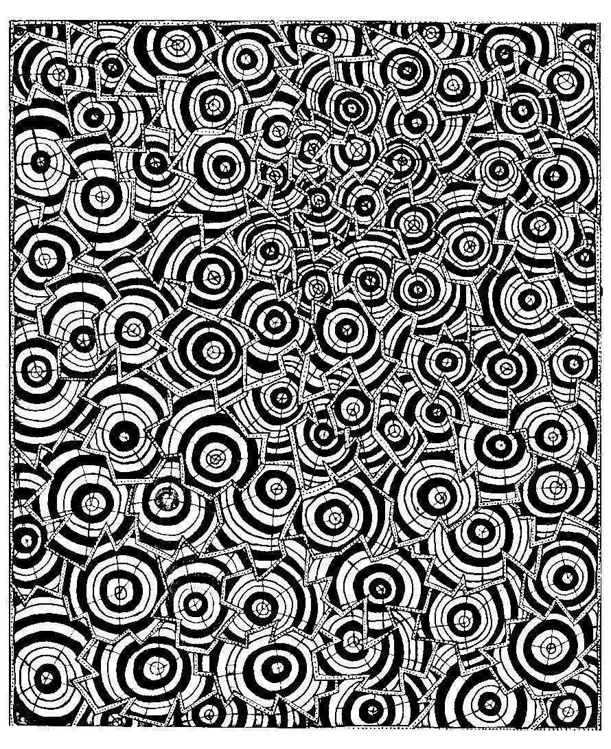 Colorear para adultos : Psychedelic - 4Desde la galería ...