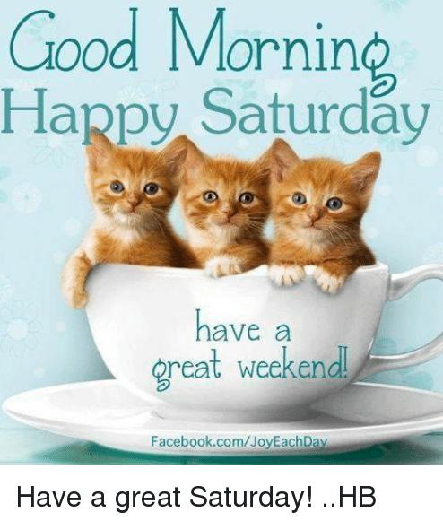 Happy Saturday Meme To Share Good Morning Happy Saturday Happy Saturday Quotes Good Morning Saturday