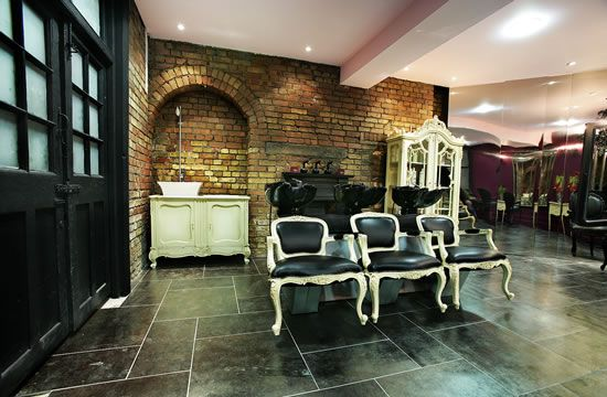 vintage chic salon, want to own my own salon and serve coctails ...