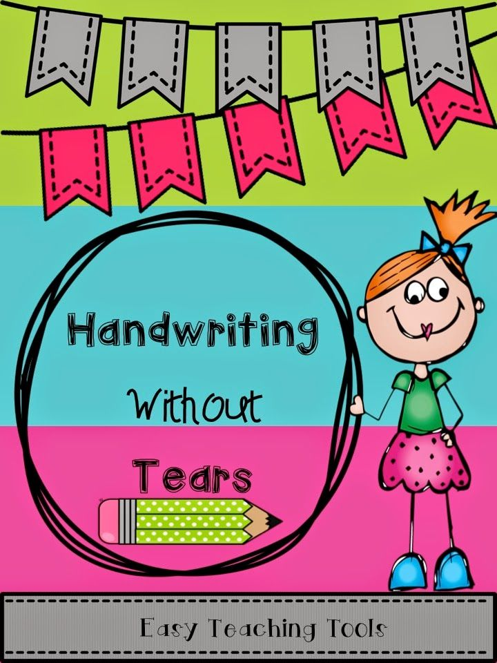 Printable Worksheets free handwriting without tears worksheets : Handwriting Without Tears paper for the entire year! | Easy August ...