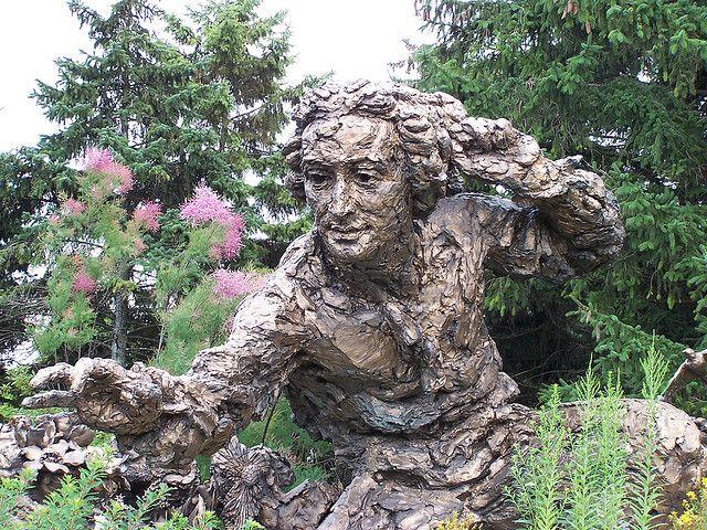 Statue At Chicago Botanic Garden In 2020 Chicago Botanic 400 x 300