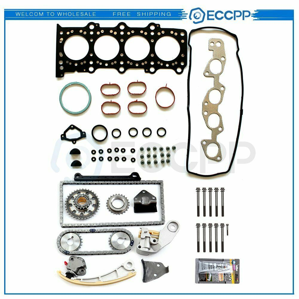eBay #Sponsored Timing Chain Kit & Head Gasket Bolts Set For 2007