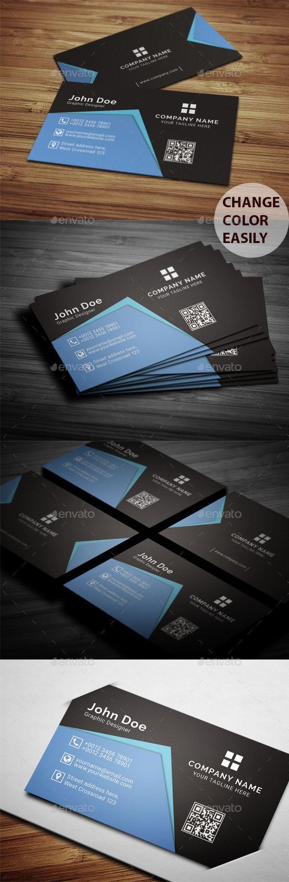 Creative personal business card minimal business card pinterest creative personal business card professional company download here httpsgraphicriveritemcreative personal business card 20760634refpxcr colourmoves