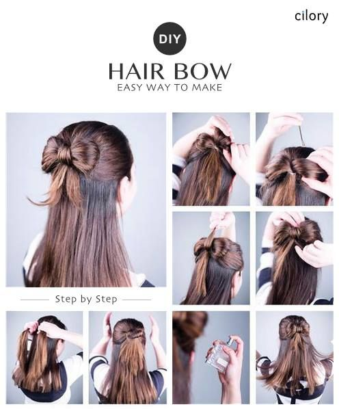 Diy Easy Hairstyles Easy Hairstyles For Medium Hair Easy Hairstyles For School Easy Hairstyles For Short Hai Medium Hair Styles Easy Hairstyles Hair Styles